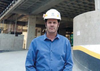 Luis Eduardo Cavagioni, gerente de Obras da Construtora Toda do Brasil