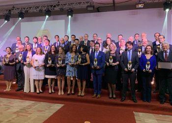 Foram 48 players que levaram o prêmio pelo reconhecimento do desempenho e da inovação durante 2018